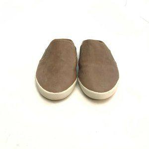 Frye Melanie Gore Mule Brown Leather Slip On 5.5M